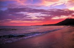 Malibu Ocean Sunset....ahhhhh. Can hear the PCH and the waves :)