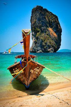 Poda Island, Krabi, Thailand – a gorgeous tropical isle located 8 km off the coa… – 2020 World Travel Populler Travel Country Krabi Thailand, Thailand Travel, Asia Travel, Places To Travel, Places To See, Travel Destinations, Timor Oriental, Magic Places, Historical Sites