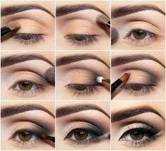 Eye make-up.