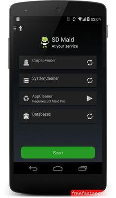 تحميل تطبيق SD Maid لحذف الملفات المؤقتة وتسريع اندرويد صورة للبرنامج