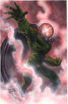 Mysterio painting.