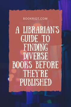 Libraries | Librarians | Diverse Books | LibraryReads | #booklists | Diverse Reads | #books | #Reading