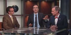 John Oliver takes on climate change.
