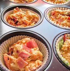 Simply The best Pizza Muffins — Deliciously Gabi Pizza Snacks, Party Snacks, Boiled Ham, Pizza Logo, Oven Baked, Pasta Salad, Macaroni And Cheese, Baking, Dinner
