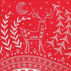 Woodland Creatures, Woodland Animals, Gifts For Pet Lovers, Gift For Lover, Dandelion Drawing, Scandinavian Folk Art, Linocut Prints, Nursery Wall Art, Pattern Art