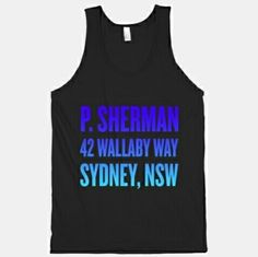 P. Sherman 42 Wallaby Way Sydney, NSW ... Finding Nemo top