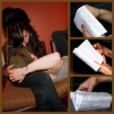 Letters to #amywinehouse from Blake