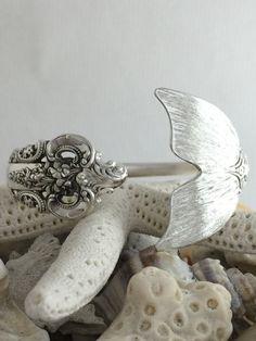 Vintage Sterling Silver Wallace Spoon Bracelet by NotSoFlatware