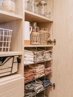 9 Unexpected Kitchen Storage and Organization Ideas You Didn't Try Last Spring Pantry Storage, Pantry Organization, Kitchen Storage, Storage Spaces, Ikea Kallax Shelf, Ikea Kallax Hack, Custom Pantry, California Closets, My Old Kentucky Home