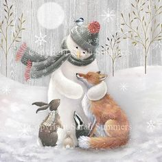 Browse all products in the Packs of Christmas Cards category from Sarah Summers Illustration. Magical Christmas, Christmas Love, Vintage Christmas, Christmas Crafts, Christmas Decorations, Xmas, Christmas Scenes, Christmas Animals, Christmas Pictures