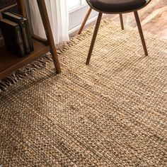 nuLOOM Handmade Eco Natural Fiber Chunky Loop Jute Rug (3' x 5') | Overstock.com Shopping - The Best Deals on 3x5 - 4x6 Rugs