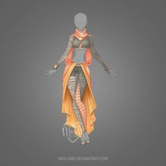 [CLOSED] Outfit auction # 9 from mollimo Source by cchubbs Dress Drawing, Drawing Clothes, Dress Sketches, Fashion Sketches, Drawing Fashion, Anime Outfits, Cool Outfits, Fashion Art, Fashion Outfits