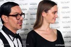 VAMFF 2014: Backstage with L'Oreal Proffessionnel Hair Director Brad Ngata | Stylehunter.com