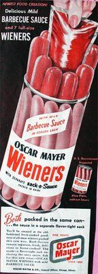 Hold on here!!! Oscar Mayer Wieners in a plastic container with a sack o sauce????  Wow...Am I dreaming?  This is the best thing Oscar has ever come up with!! Thank you so much!!!!!
