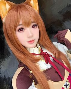 Raphtalia (Cosplay) (The Rising Of The Shield Hero) Asian Cosplay, Epic Cosplay, Cute Cosplay, Cosplay Outfits, Cosplay Costumes, Anime Cosplay Girls, Kawaii Cosplay, Anime Sexy, Tsuyu Cosplay