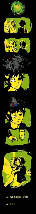 Sollux and Aradia <3 <3 <3 <3  This is incredibly sweet and I have so many feels!!!!!!!! <3