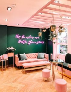 decor shop mable cafes pretty coffee shops in london spectrum collections shop carnaby street Hair Salon Interior, Nail Salon Decor, Beauty Salon Decor, Salon Interior Design, Home Beauty Salon, Beauty Salon Design, In Home Salon, Beauty Studio, Salons Decor