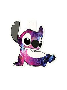 Disney Lilo & Stitch Galaxy Stitch StickerDisney Lilo & Stitch Galaxy Stitch Sticker,