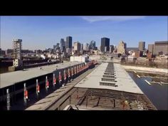 Drone Footage Old Port Montreal - YouTube