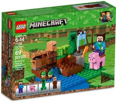 NEW LEGO Minecraft 21138 The Melon Farm Contains affiliate links. - Explore the best and the special ideas about Lego Minecraft Lego Minecraft, Minecraft Video Games, Cool Minecraft Houses, Minecraft Pixel Art, Minecraft Skins, Minecraft Crafts, Minecraft Stuff, Minecraft Buildings, The Farm