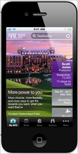Starwood Hotels And Resorts Launches iOS App