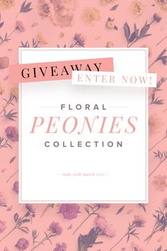 Win+a+FREE+Floral+Pe