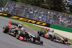 Räikkönen vs. Hamilton - GP Australia 16 March 2012 #formula1 #f1 #australia #raikkonen #hamilton