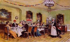 Christmas Day Dinner - Traditional   Review over the 20th century the various traditional Christmas dinners and what was served.   #holidays #Christmas #Tradition #family #familytree #ancestors