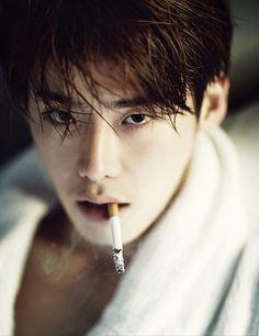 lee jong suk and actor image Lee Jong Suk Cute, Lee Jung Suk, Lee Dong Wook, Ji Chang Wook, Asian Actors, Korean Actors, Korean Men, Lee Jong Suk Smoking, Kpop