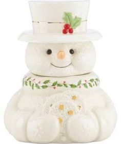 Shop for Happy Holly Days Snowman Cookie Jar and other fine products by Lenox. Find the best Happy Holly Days Snowman Cookie Jar for your home, holiday or celebration and make a statement. Christmas Cookie Jars, Christmas Dishes, Holiday Cookies, Christmas Treats, Lenox Christmas, Merry Christmas, Christmas Time, Christmas Snowman, Christmas Decorations