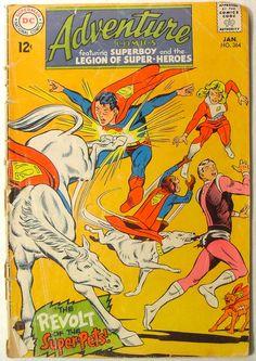 1967 ADVENTURE COMICS -- SUPERBOY Vintage Comics COMIC BOOK | by Christian Montone