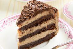 Gesztenyekrémes, csokis süti: még a piskótánál is puhább a tésztája Paleo Brownies, Sweet Life, Tiramisu, Tart, Cake Recipes, Food And Drink, Vegetarian, Vegan, Cookies