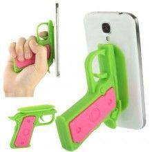Suporte Gadget Pistola Smartphone - Verde 7,99 €