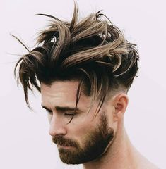 Messy Hairstyle Ideas For Men To Have This Year