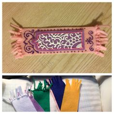 #eid #ramadan #kids #crafts janamaaz (prayer rug) bookmarks as part of our eid…