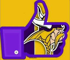 Minnesota Vikings Game, Nfl Vikings, Best Football Team, Nfl Football, Football Stuff, Vikings Cheerleaders, Viking Baby, Viking Logo, Nfc North