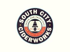 South City designed by Kevin Kroneberger. Connect with them on Dribbble; the global community for designers and creative professionals. Vintage Logo Design, Best Logo Design, Vintage Branding, Graphic Design, Vintage Logos, Design Design, Typography Logo, Logo Branding, Lettering