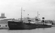 """The """"Bachaquero"""" (4,193 gross tons), dated from 1937, when the Furness Shipbuilding Company Ltd., delivered her."""