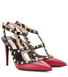 Valentino Rockstud ankle strap pumps Fall 2015 collection - LaiaMagazine