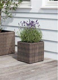 The Harting Square Planter Small is crafted in PE Rattan and will smarten up every garden