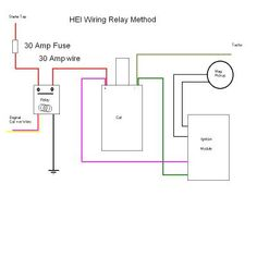 Diagram together with GM HEI Ignition Module Wiring Diagram on gm