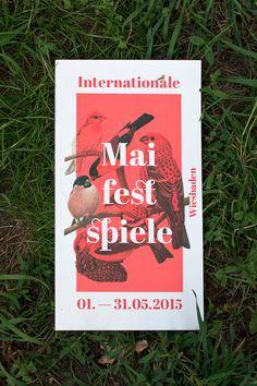 Internationale Maifestspiele 2015 on Branding Served