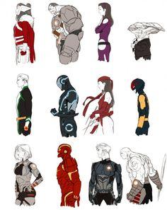 Kris Anka - Marvel Now Portraits 2