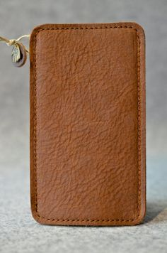 Galaxy S5 Leather Sleeve | GEORGE | http://etsy.me/1t3VU8z | #GalaxyS5 #GalaxyS5Sleeve #GalaxyS5Leather #GalaxyS5Pouch #SamsungGalaxyS5