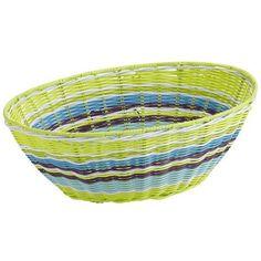 Outdoor Synthetic Wicker Baskets