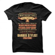 Barber Stylist - #mens #tshirt designs. BUY NOW => https://www.sunfrog.com/LifeStyle/Barber-Stylist-90664105-Guys.html?60505