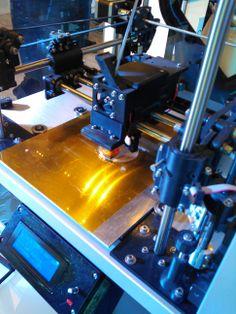 3D printer with LED light