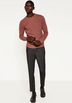 Today's Look: Cropped Trousers. Photo: Zara. #ootd #menswear #mensfashion #mensstyle #instafashion #croppedtrouser