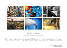 """Hatten Sie heute schon Spaß?   """"Creativity is intelligence having fun.""""  (Albert Einstein)  #Kreativität #creativity #Intelligenz #intelligence"""