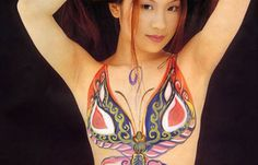 Breast tattoo for breast cancer survivor
